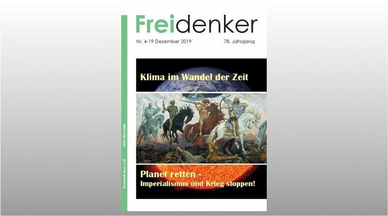 FREIDENKER 4-19 – Klima im Wandel der Zeit
